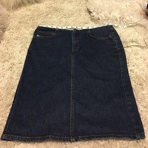 😳 Diesel Denim Skirt size 28 x 20