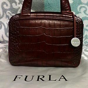 Georgous Vintage Furla Satchel - Made in Italy