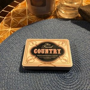 Too Faced Country Eyeshadow Collection