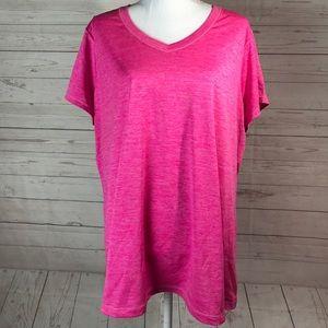 XERSION 2X pink shirt