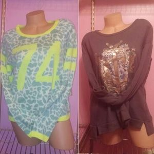2 Juicy Sweaters nwt L/XL