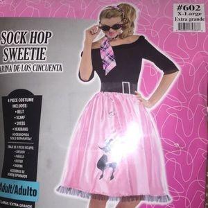 Sock Hop Sweetie Halloween Costume
