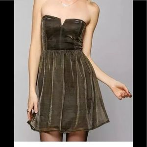 Lucca Couture By Urban Outfitters Shiny Gold SZ M