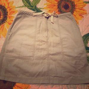New York & Company Khakis Skirt