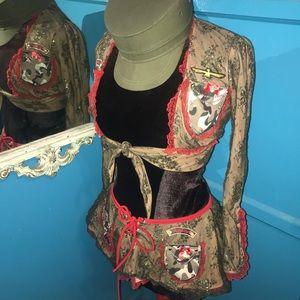 TRASHY LINGERIE military costume