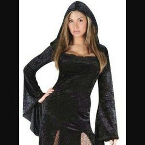 Hooded costume dress plus size 16w-24w