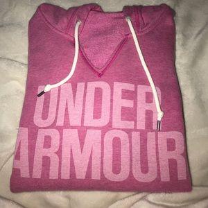 U.A pink breast cancer hoodie