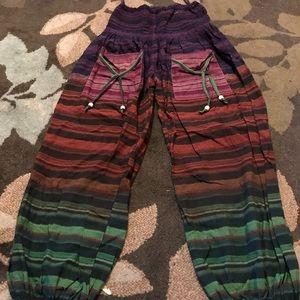 Pants - Linen Harem-style Pants