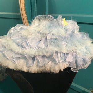 Burlesque feather  bustle