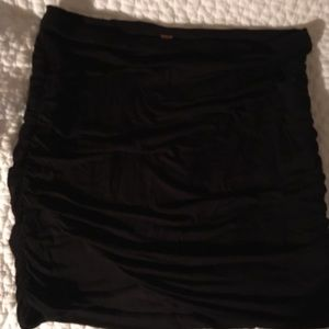 Free People ruched skirt