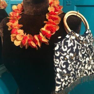4 piece Hawaiian luau bundle set