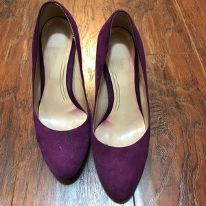 Cole Haan size 7 purple