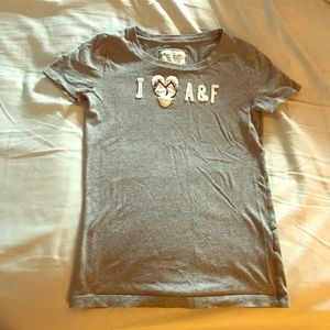 Abercrombie and Fitch I love AE tee shirt