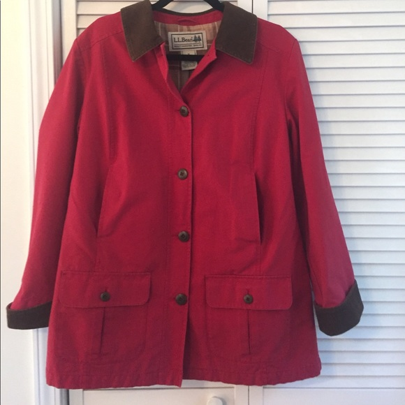 L.L. Bean - 🍁final sale! LL bean red barn jacket from Christy's ...