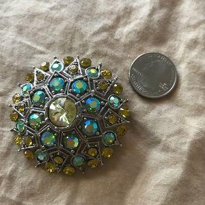 Stunning Sparkle Vintage Brooch