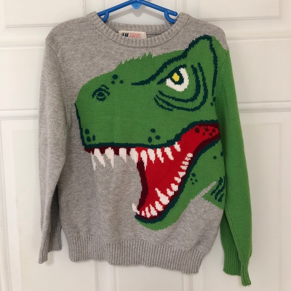 77c1d4a1a0e679 H M Other - Boys Dinosaur Sweater