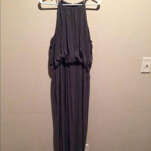 H&M Floor Length Grey Dress