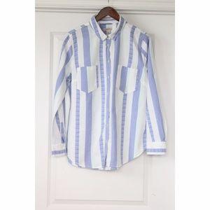 Womens Size XL MERONA Shirt Multi Color Button