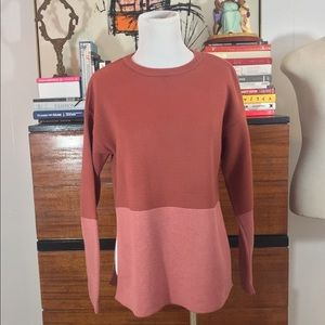 🐙Mango Knitted Side slit Sweater