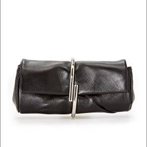 3.1 phillip Lin alix minaudiere black clutch bag