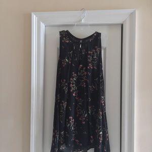 Free people keyhole tunic dress