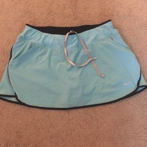Blue Nike Tennis Skirt
