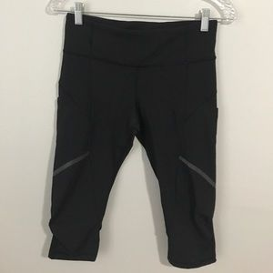 Cropped Lululemon Workout Pants