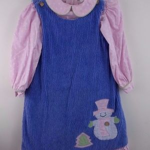 La Jenns Boutique Snowman Outfit Dress Girls for sale