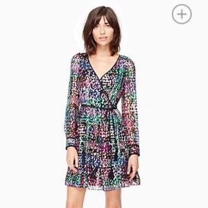 kate spade Metallic Multi Dot Mini Dress