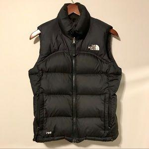 The North Face 700 Black Vest XS