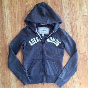 Abercrombie and Fitch zip up hoodie