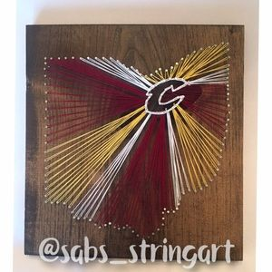 Cleveland cavaliers string art