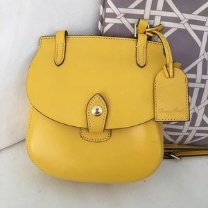 Dooney Bourke Happy Yellow Bag Crossbody Italy