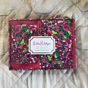Lilly Pulitzer Wild Confetti Passport Luggage Tag
