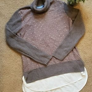 Simply Vera Cowl Neck Sweater Size L