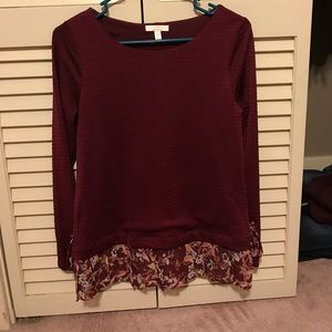 Perfect condition top by Lauren Conrad