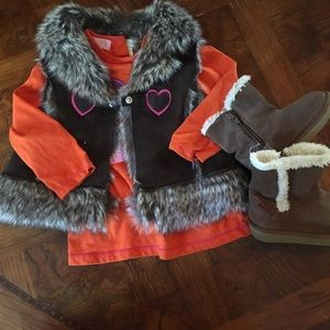 Other - Fall Bundle! Macy's outfit & Stride Rite boots!