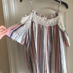 Lauren Conrad cold shoulder blouse
