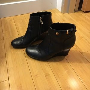 Tory Burch - Wedge Booties - Size 8.5
