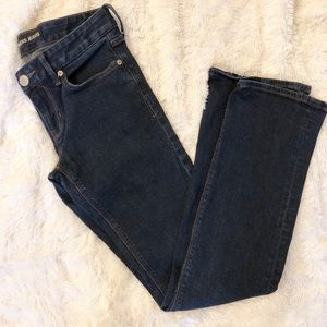 EXPRESS 4R Barely Boot Stella Low Rise Jeans