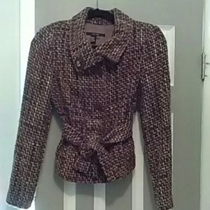 Zara Blazer perfect for fall. Shades of browns.