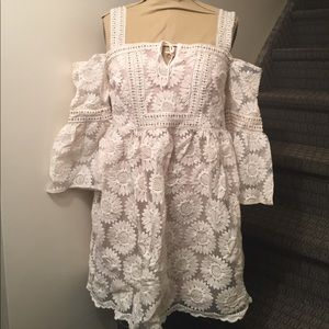 Nicole Miller embroidered dress