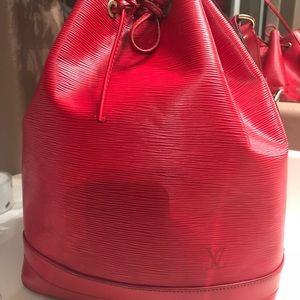 Louis Vuitton Epi Leather Drawstring