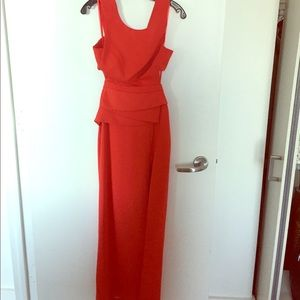 BCBG Red Even Gown Sz 2