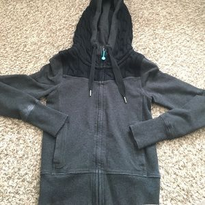 Lululemon Scuba Hooded jacket Sweater and cotton