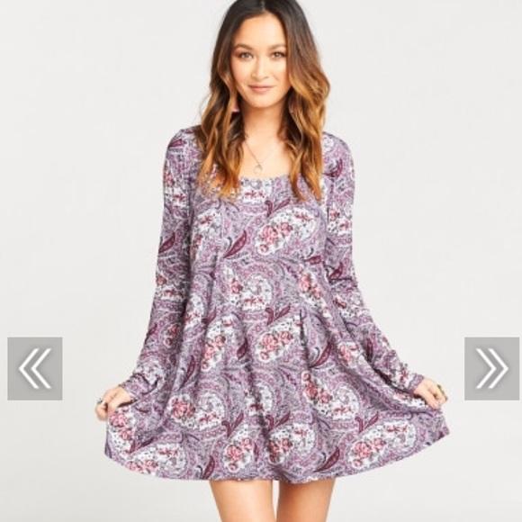 ac366b554376d NWT MUMU Sloan mini dress in teatime rose spandy Boutique