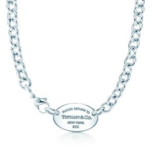 Authentic Pre Loved Return to Tiffany Necklace.