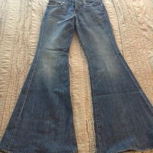 7 For All Mankind bellbottom jeans