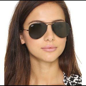 💯Ray Ban Sunglasses RB3025 BLACK on BLACK