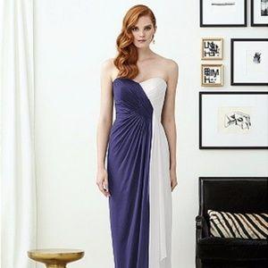 Dessy Collection Bridesmaid Dress 2956 Burgundy